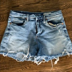 "Blank NYC ""retro high"" denim cutoff shorts 29"